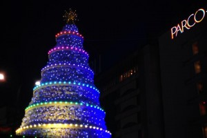 ISP池袋ショッピングパーク クリスマスツリー