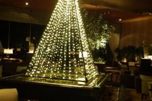 シェラトン都ホテル東京 クリスマスツリー