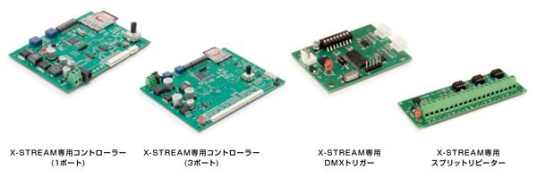 X-CURTAIN / X-STREAM 専用コントローラーシステム