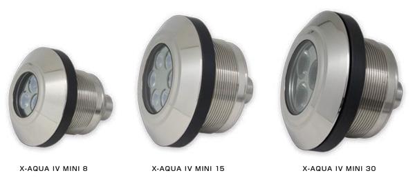 X-AQUA Ⅳ MINI 8 /15 /30(RGBW)