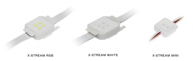 X-STREAM RGB , WHITE , MINI
