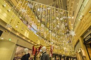 イオンモール木曽川 クリスマス装飾